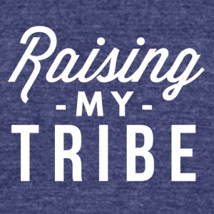 Raising my Tribe - Unisex Tri-Blend T-Shirt by American Apparel