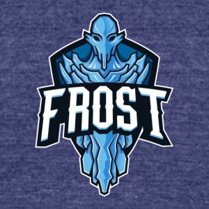 FrosT Logo - Unisex Tri-Blend T-Shirt by American Apparel
