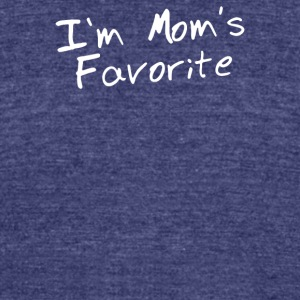 Im Moms Favorite - Unisex Tri-Blend T-Shirt by American Apparel