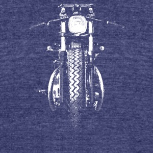 Harley Davidson Motorcycle - Unisex Tri-Blend T-Shirt by American Apparel