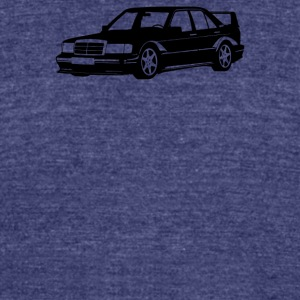 Mercedes W201 - Unisex Tri-Blend T-Shirt by American Apparel