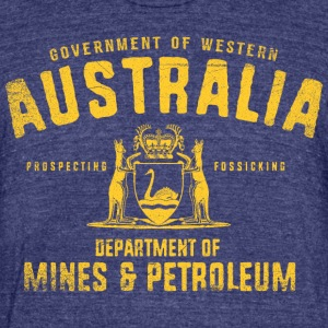 Western Australia Dept. of Mines and Petroleum - Unisex Tri-Blend T-Shirt by American Apparel