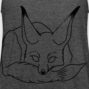 sleeping fox - Women's Flowy Tank Top by Bella