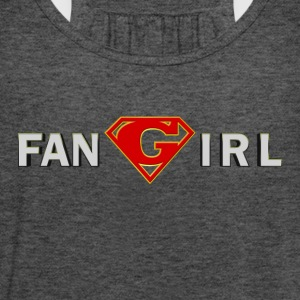 Supergirl - Fangirl - Women's Flowy Tank Top by Bella