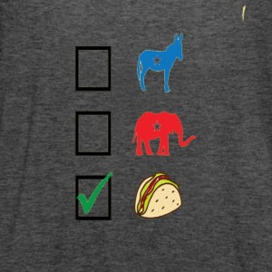 Vote for Taco funny Election Day Shirt Pre - Women's Flowy Tank Top by Bella