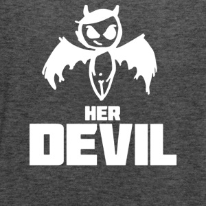 Her Devil - Women's Flowy Tank Top by Bella