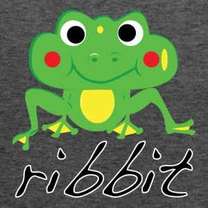 Funny ribbit frog product. - Women's Flowy Tank Top by Bella
