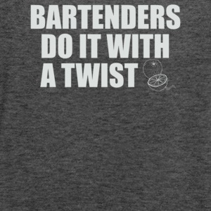 Bartenders Do It With A Twist - Women's Flowy Tank Top by Bella