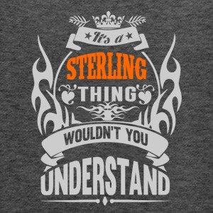 IT'S A STERLING THING TSHIRT - Women's Flowy Tank Top by Bella