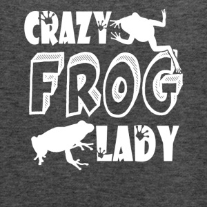 Crazy Frog Lady Shirt - Women's Flowy Tank Top by Bella