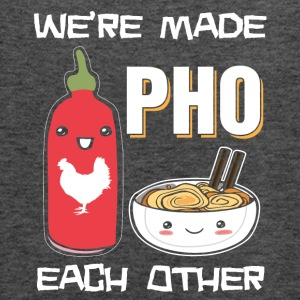 We're made pho each other - Women's Flowy Tank Top by Bella