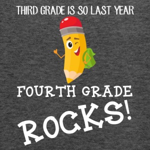 third grade is so last year, fourth grade Rocks! - Women's Flowy Tank Top by Bella