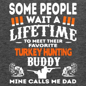 Favorite Turkey Hunting Buddy Shirt - Women's Flowy Tank Top by Bella