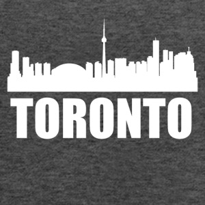 Toronto Skyline - Women's Flowy Tank Top by Bella