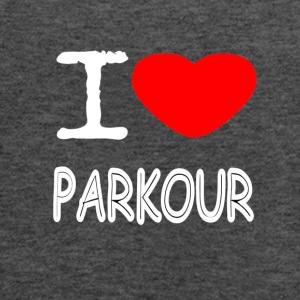 I LOVE PARKOUR - Women's Flowy Tank Top by Bella