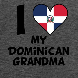 I Heart My Dominican Grandma - Women's Flowy Tank Top by Bella