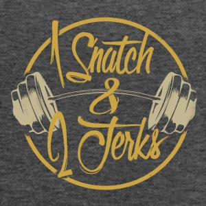 1 Snatch and 2 Jerks - Women's Flowy Tank Top by Bella