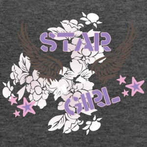 star_girl - Women's Flowy Tank Top by Bella