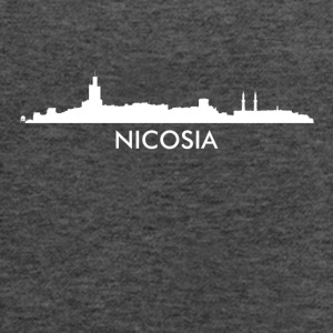 Nicosia Cyprus Skyline - Women's Flowy Tank Top by Bella