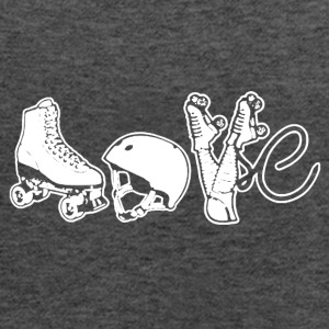 Roller Derby Love Shirt - Women's Flowy Tank Top by Bella