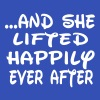 She lifted happily ever after - Women's Flowy Tank Top by Bella