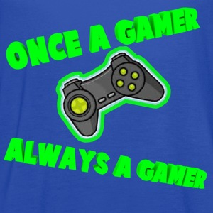 Once A Gamer Always A Gamer - Women's Flowy Tank Top by Bella