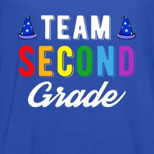 Team 2st Second Grade Shirt Back To School shirt - Women's Flowy Tank Top by Bella
