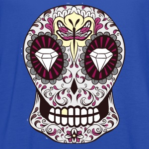sugar skull dragonfly - Women's Flowy Tank Top by Bella