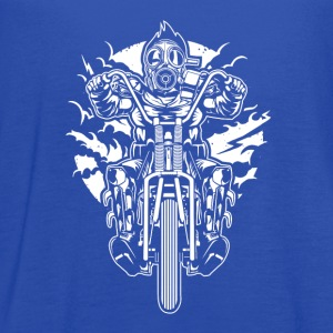 Gasmask Chopper. The Nasty Biker! - Women's Flowy Tank Top by Bella