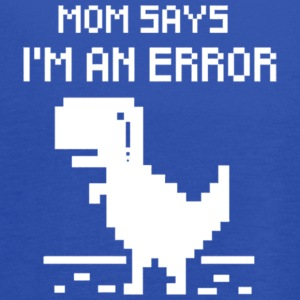 I am an Error - T Rex - Women's Flowy Tank Top by Bella