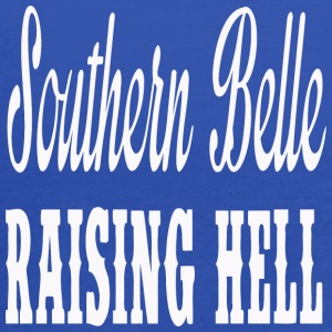 Southern Belle Raising Hell - Women's Flowy Tank Top by Bella