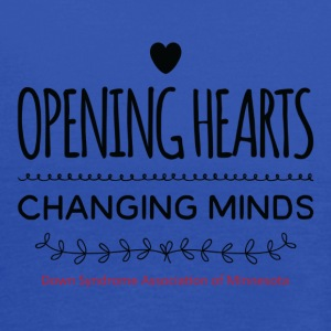 Opening Hearts Changing Minds - Women's Flowy Tank Top by Bella