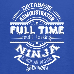 Database Administrator Shirt - Women's Flowy Tank Top by Bella
