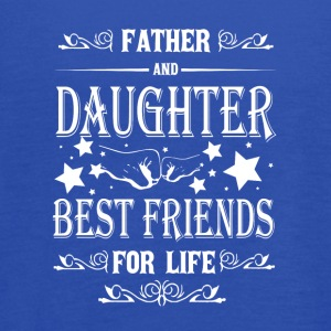 Father And Daughter Best Friends For Life T Shirt - Women's Flowy Tank Top by Bella