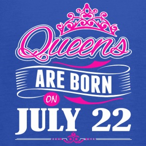 Queens are born on JULY 22 - Women's Flowy Tank Top by Bella