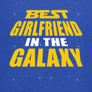 Best Girlfriend In The Galaxy - Women's Flowy Tank Top by Bella