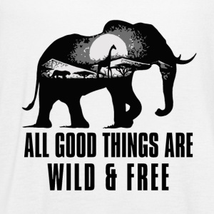 All Good Things Are Free - Women's Flowy Tank Top by Bella