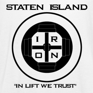 Staten Island Iron  In Lift We Trust - Women's Flowy Tank Top by Bella