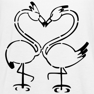 Flamingo Couple - Women's Flowy Tank Top by Bella