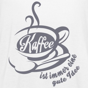 KAFFEE GUTE IDEE - Women's Flowy Tank Top by Bella