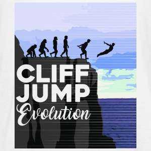 Cliff Jumping Evolution T-Shirt - Women's Flowy Tank Top by Bella