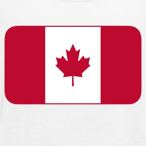 Canadian Flag - Women's Flowy Tank Top by Bella