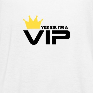 yes sir I'm a VIP - Women's Flowy Tank Top by Bella