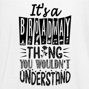 I's a broadway - Women's Flowy Tank Top by Bella