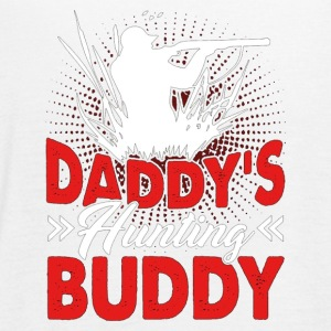 Daddy s Hunting Buddy Funny Shirts - Women's Flowy Tank Top by Bella