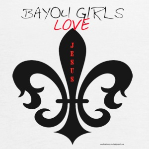 BAYOUGIRLS LOVES JESUS - Women's Flowy Tank Top by Bella