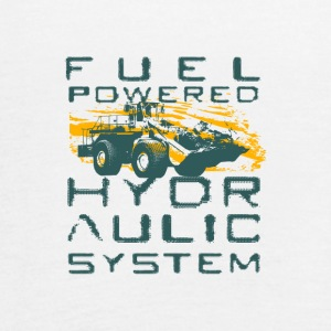 FUEL POWERED HYDROLIC SYSTEM - Women's Flowy Tank Top by Bella