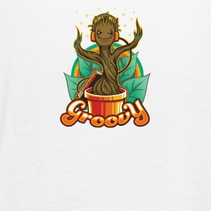 Groovy Groot - Women's Flowy Tank Top by Bella