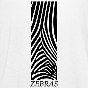Zebras - Women's Flowy Tank Top by Bella