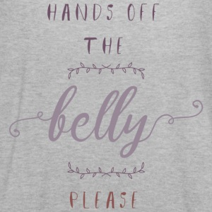 Hands Off The Belly Please - Women's Flowy Tank Top by Bella